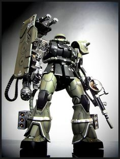 MG 1/100 MS-06J Zaku 2.0 Conversion - Customized Build  Modeled by cpaguy