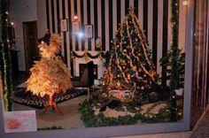 Montra de Natal de Odete Atelier de Costura