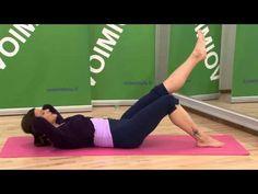 Lihaskuntojumppa keskivartalolle - YouTube