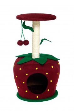 Tee hee. A silly strawberry tree.