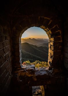 Good Morning China - Wild Great Wall by Benjamin Lefebvre on 500px Photo taken during a hiking/camping trip on the Great Wall near Shuitoucun village. It is an amazing place, you won't see anyone on this part of the wall.