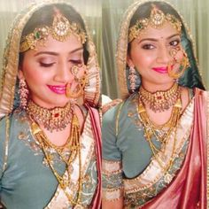 Bridal Jewellery Designs   Polki, Kundan, Gold and Diamond   Wedmegood..........m in love with this look...one should definetly try dis on her D day :)