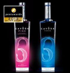 Cavoda Vodka wins Pentawards 2012, Silver Medal