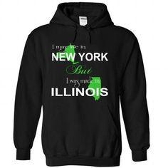 (LiveXanhLa001) 003-Illinois - #birthday gift #gift for dad. BUY IT => https://www.sunfrog.com//LiveXanhLa001-003-Illinois-9455-Black-Hoodie.html?68278