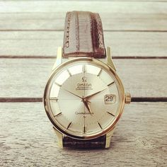 Trolling the interwebs for another vintage Omega watch. Great looking example here.