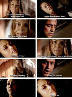 Yes Finn and Raven need to get back together so they won't mess up Bellarke! Plus I love their back story! if only Finn was alive