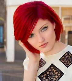 Crimson Hair Color | Red hair colors