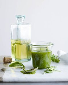 This looks delicious! Simple Basil Vinaigrette | What's Gaby Cooking