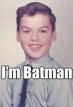 Young Michael Keaton - I Am BATMAN