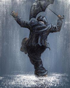 Singin' In The Rain  silhouette