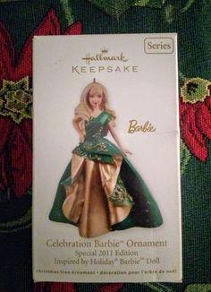 Hallmark Ornament Barbie Christmas on Mercari Christmas Barbie, Hallmark Christmas, Hallmark Ornaments, Decoration, Smoke Free, Pets, Beautiful, Noel, Animals And Pets