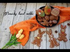 Perníčky hned měkké | 🐰 Velikonoční edice 🐣 | CZ/SK HD recipe - YouTube Gingerbread Cookies, Desserts, Youtube, Food, Easter Activities, Gingerbread Cupcakes, Tailgate Desserts, Deserts, Eten