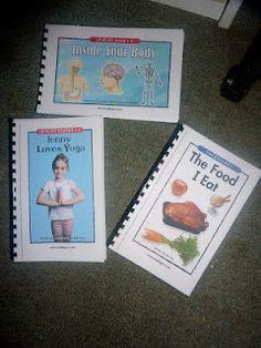 Printable Human Body Unit books!