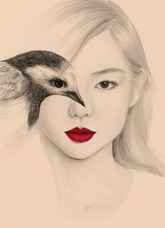 """From the  blog """"a girl named NI.RO"""" illustration by Okart"""