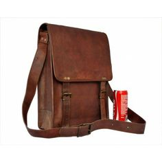 Mayshe Mens Luggage Leather Slim Tote Briefcase for 14 Inch Laptop Shoulder Bag Business Bag