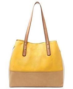 Fossil Handbag, Zoey Leather Shopper