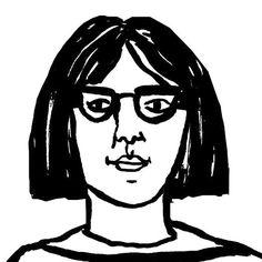 Self portrait aged 28. #selfportrait #louiselockhart  #ink #paint #painting #inkdrawing #drawing by theprintedpeanut