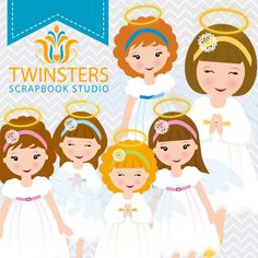Christmas Angels clipart, 6 png digital clipart -TW070 – INSTANT DOWNLOAD by Twinsters on Etsy https://www.etsy.com/listing/171095917/christmas-angels-clipart-6-png-digital