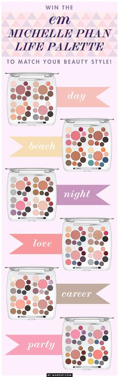 Giveaway: Win the em Michelle Phan Life Palette to Match Your Beauty Style!