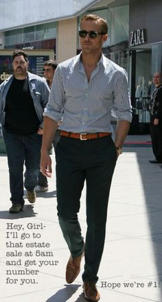 a thrifting Ryan Gosling...