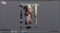 """This video focus on the Boss """"Temple Statue"""" and shows how works the puppet on Spine and all his animations for the game.  See more on http://charles-duchesne.blogspot.co.uk/"""