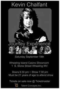 Poster art xxamk ~ Photo: Kevin Chalfant Journey Experience ~ Talent Concepts Inc