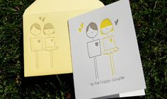 Illustrated Note Cards from Wiley Valentine~ these are precious. <3