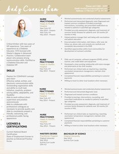 andy cunningham ii nurse practitioner resume