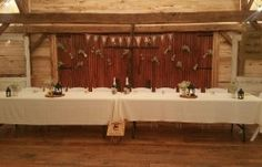 Head Table - Victoria + Colby | Hollow Hill Event Center