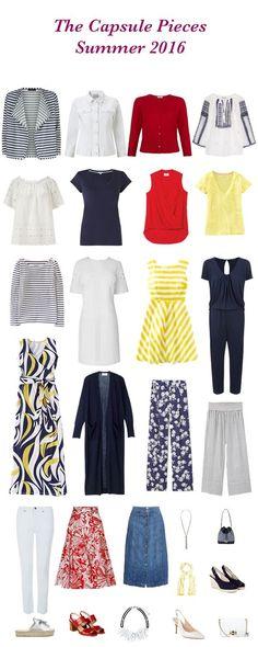 Summer capsule wardrobe pieces