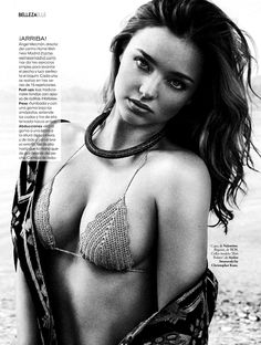Miranda Kerr | Photography by Xavi Gordo | For Elle Magazine Spain | May 2014