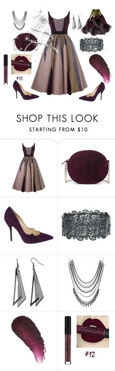 """""""New Year"""" by ladyscarlet01 ❤ liked on Polyvore featuring Hussein Bazaza, Sole Society, Paul Andrew, ABS by Allen Schwartz and Kjaer Weis"""