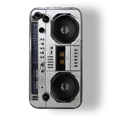 iPhone 4/4S Case Boombox, $17.50, now featured on Fab.