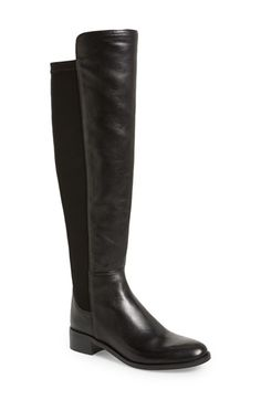 Vince Camuto 'Jevina' Stretch Back Riding Boot (Women) available at #Nordstrom (with small zipper at ankle) $229