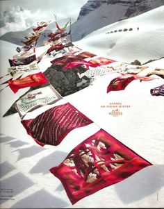 hermes ad, an indian winter