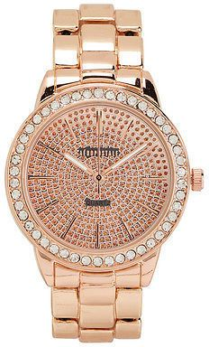 Aeropostale Womens Bling Stretch Watch Rose Gold  29.50  14 Rhinestone  Jewelry 6826b287647