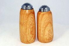 Custom Handmade Salt and Pepper Shaker Set Ash by ASHWoodshops, $30.00 Salt And Pepper Mills, Ash, Unique, Handmade, Vintage, Gray, Hand Made, Vintage Comics, Handarbeit
