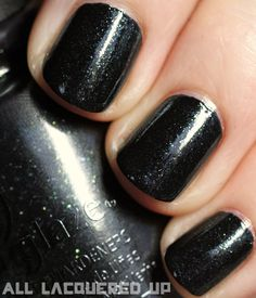 China Glaze Hunger Games collection - Smoke and Ashes