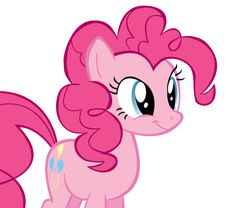 Pinkie Pie First Vector by Juicy-Cactus