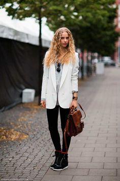 Stilettos, Street Style Stockholm, Isabel Marant, Blazers, Style Challenge, Models Off Duty, Work Looks, Girl Fashion, Fashion Tips