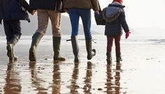 Up Of Family Walking Along Winter Beach ,Close Up Of Family Walking Along Winter Beach , Material: High Quality Canvas Ink: Waterproof Ink Technics: Spray Painting Frame: No Frame Anyone leaving the beach looking like this: