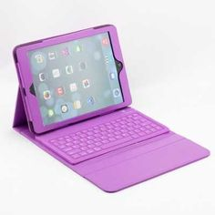 For Apple iPad Air 2 iPad 6 Tablet Silicone Bluetooth Keyboard with Protective PU Leather Stand Case Cover free shipping