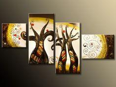 Ručně malovaný obraz - moderní obrazy - obrazy na zeď