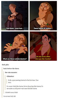 Judge Frollo's got a real problem