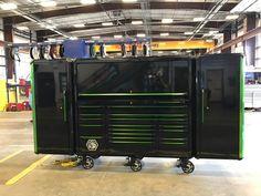 Matco Tool Box, Tool Box Storage, Garage Storage, Garage Tools, Garage Shop, Custom Tool Boxes, Smith Tools, Garage Workshop Organization, Tool Room