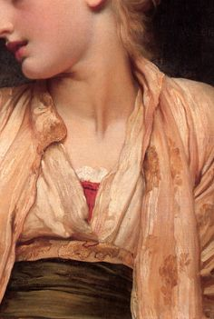 Lord Frederick Leighton, Gulnihal (detail) c.1886