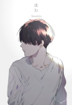 Image discovered by J. Find images and videos about boy, anime and manga on We Heart It - the app to get lost in what you love. Anime Boys, Manga Anime, Hot Anime Boy, Sad Anime, Manga Boy, Anime Boy Drawing, Anime Boy Hair, Drawing Art, Art Drawings