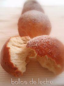 Bocados dulces y salados: BOLLOS DE LECHE