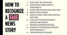 9 helpful tips to stop yourself from sharing false information.