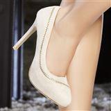 modatoi 24,99 Stiletto Heels, Shoes, Fashion, Beige Color, Pumps, Shoe, Moda, Zapatos, Shoes Outlet